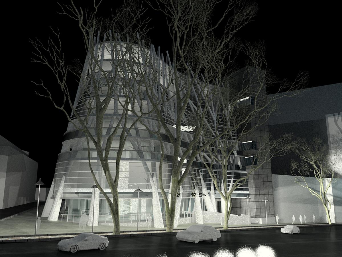 طراحی-مدرن-و-خاص-پروژه-ساختمان-بنتون-خیایان-ولی-عصر