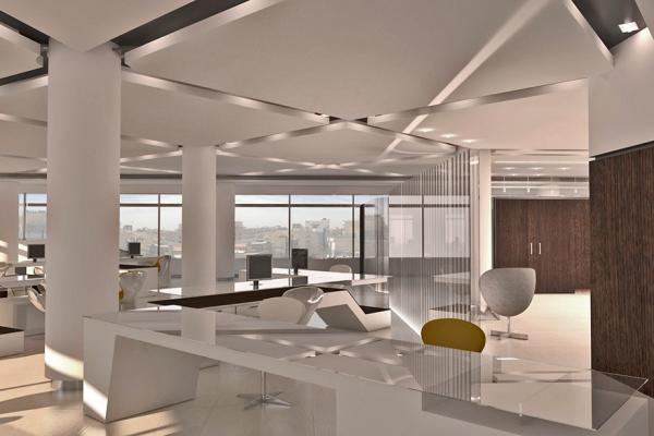 معماری-ساختمان-اداری-تجاری-زعفرانیه