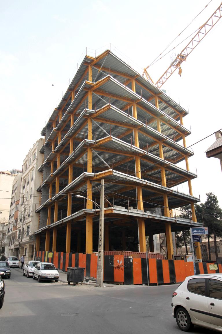 طراحی-معماری-ساختمان-اداری-تجاری-پسیان