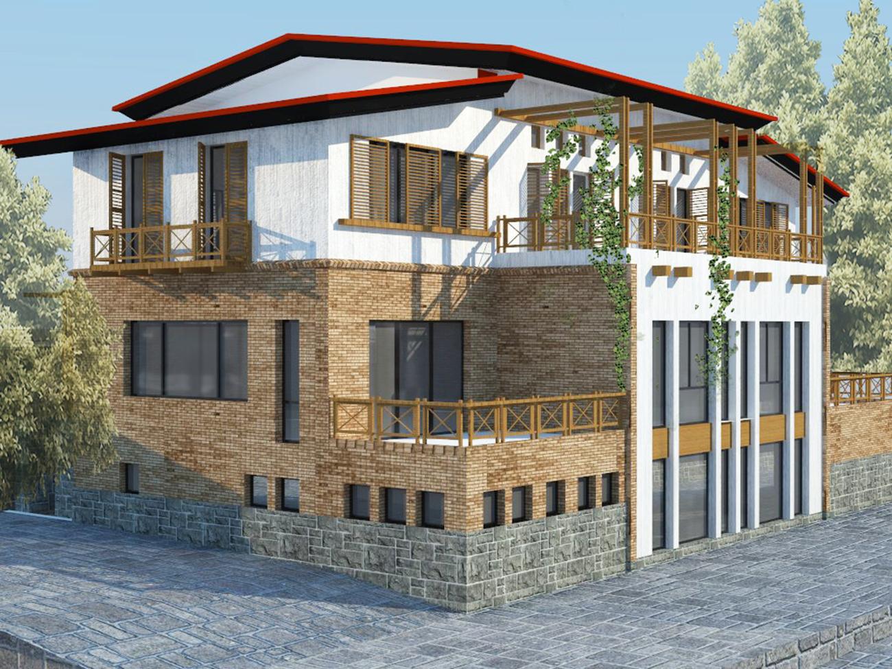 طراحی-معماری-ویلا-دماوند
