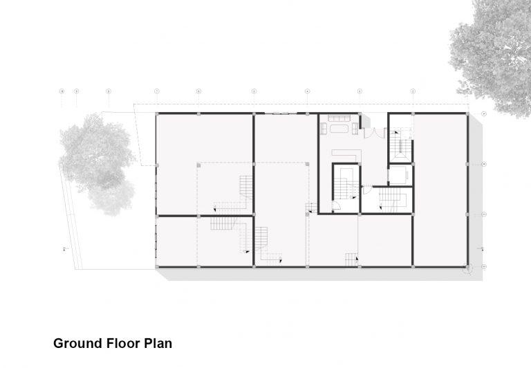 پلان-های-معماری-ساختمان-مسکونی